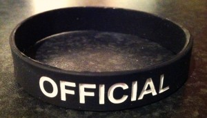 WRISTBAND - OFFICIAL