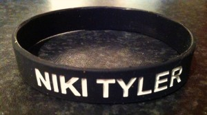 WRISTBANDS - NIKI TYLER